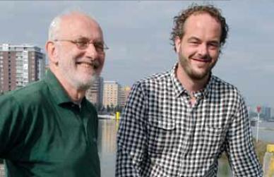 Vader en zoon Stinis